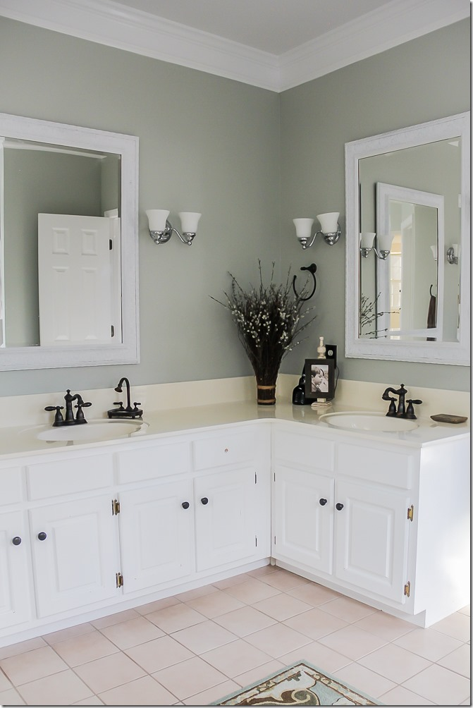 Master Bathroom Makeover- so pretty!-10
