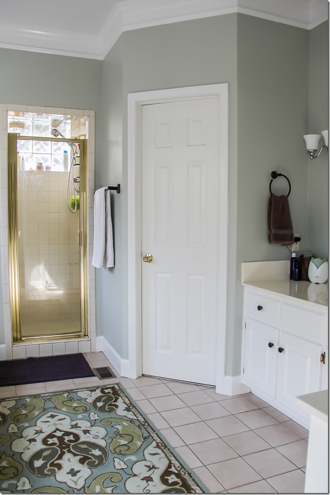 Master Bathroom Makeover- so pretty!-9
