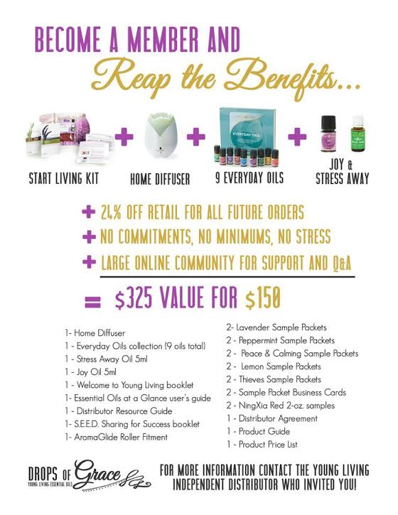Reap the Benefits of the Premium Starter Kit from Young Living