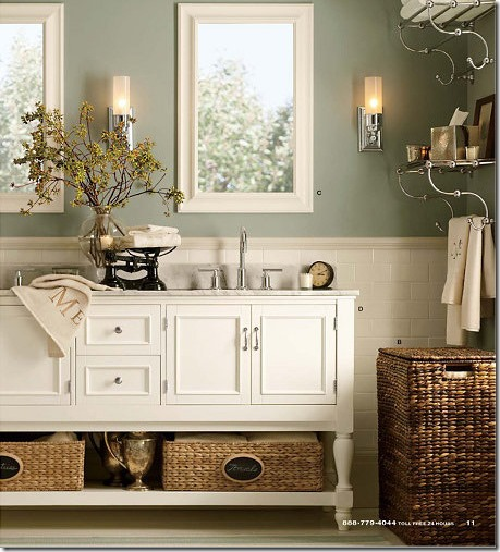 Awesome pottery barn bathroom