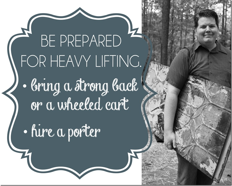 #1Be prepared for heavy lifting copy