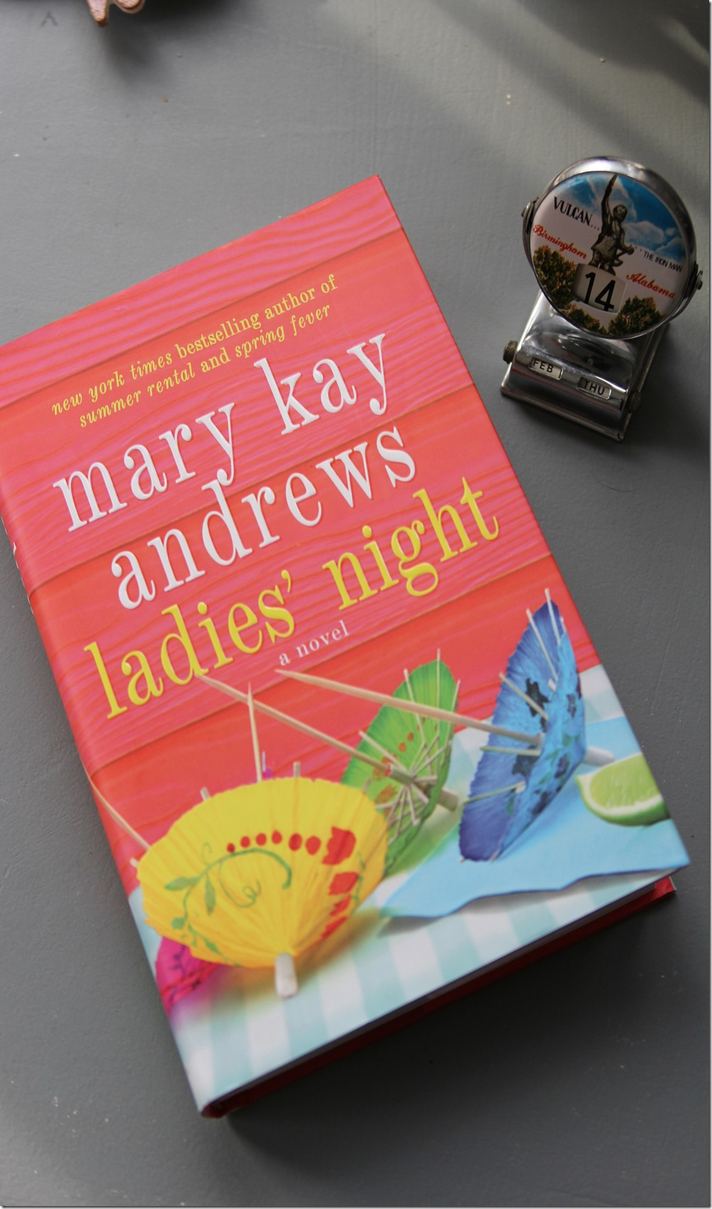Our vacation to Tybee Island, Georgia was the perfect location for a long weekend getaway. I had enough time to relax and enjoy Ladies Night by Mary Kay Andrews.