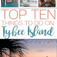 TOP 10 THINGS TO DO ON TYBEE ISLAND