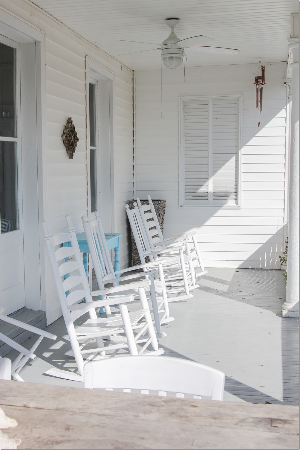 Tybee Island, Georgia is the perfect beachy getaway, where you can hang out in a rocking chair on the porch with a drink and a good book.