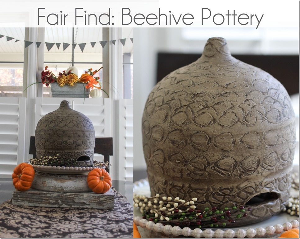 beehive pottery