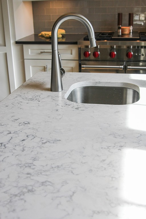 image result for quartz countertops that looks like marble