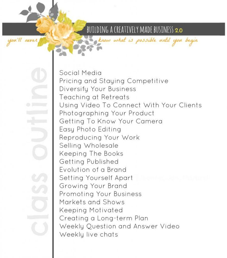 Building-a-creatively-made-business-2.0-e-course-outline