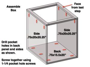 Step 3: Assemble Box