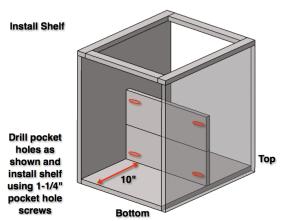 Step 5: Install Shelf