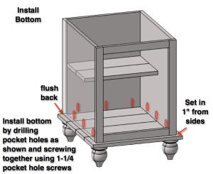 Step 7: Add Bottom to Box