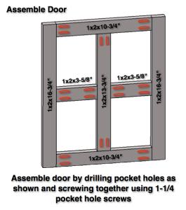 Step 9: Assemble Door