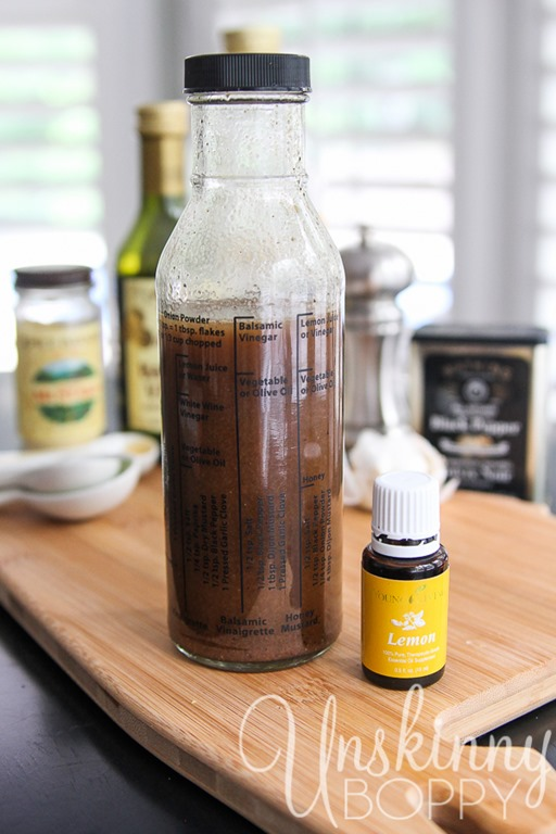 The Balsamic Vinaigrette recipe is right on the bottle along with a ...