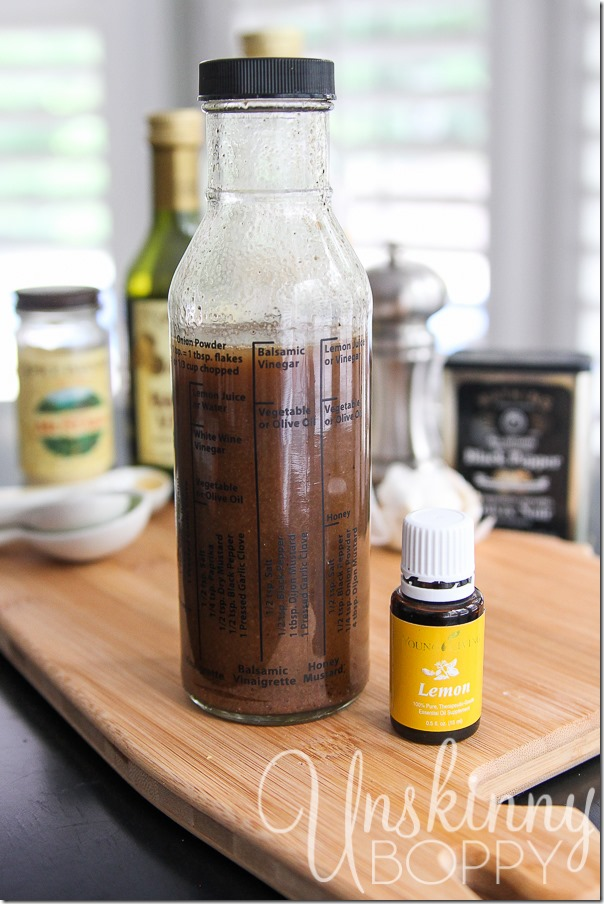 Balsamic Lemon Vinaigrette recipe