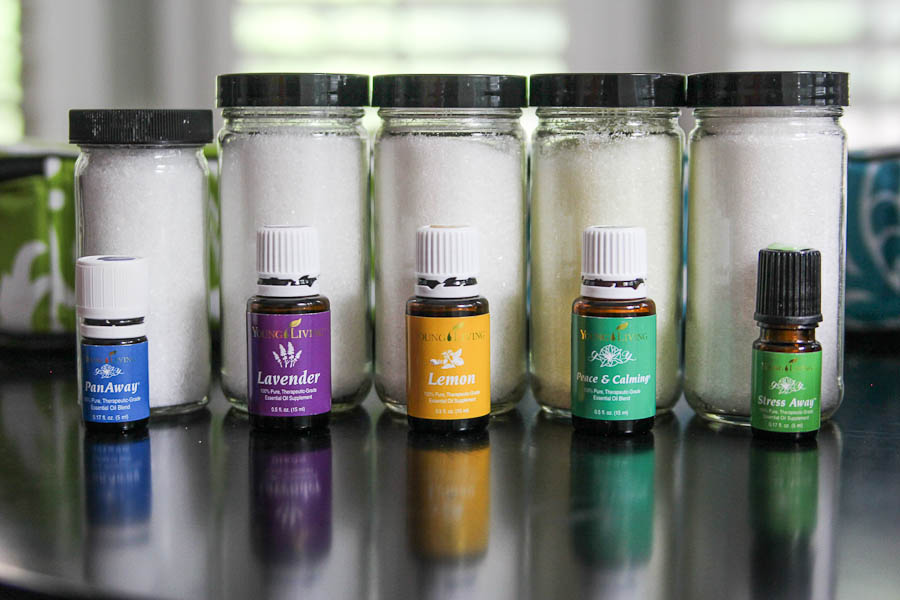 DIY Bath Salts with essential oils-4