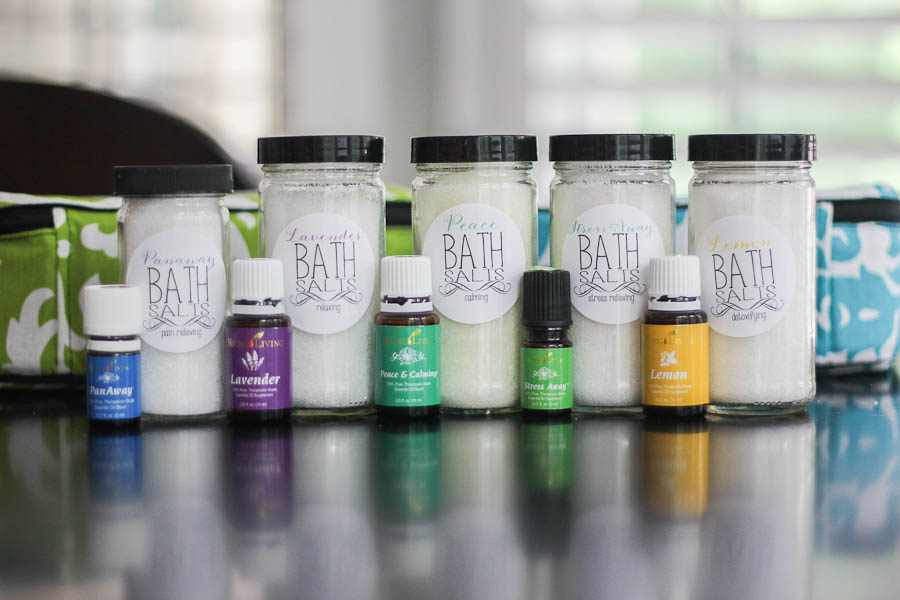 DIY Bath Salts with essential oils-5