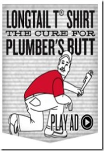 Duluth Trading Plumbers butt ad