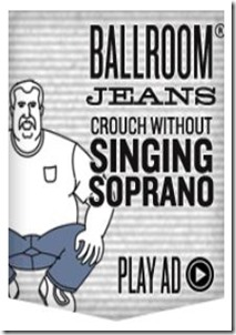 ballroom jeans from duluth trading co.