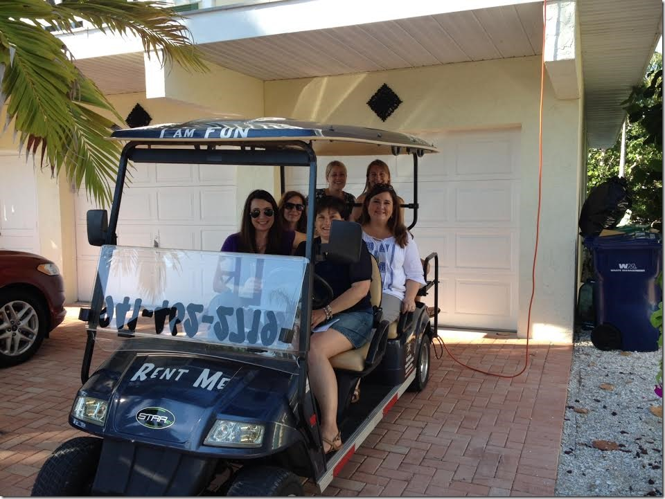 golf cart rental Anna Maria Island