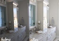 BATHROOM BEFORE AND AFTER USING LIGHTROOM