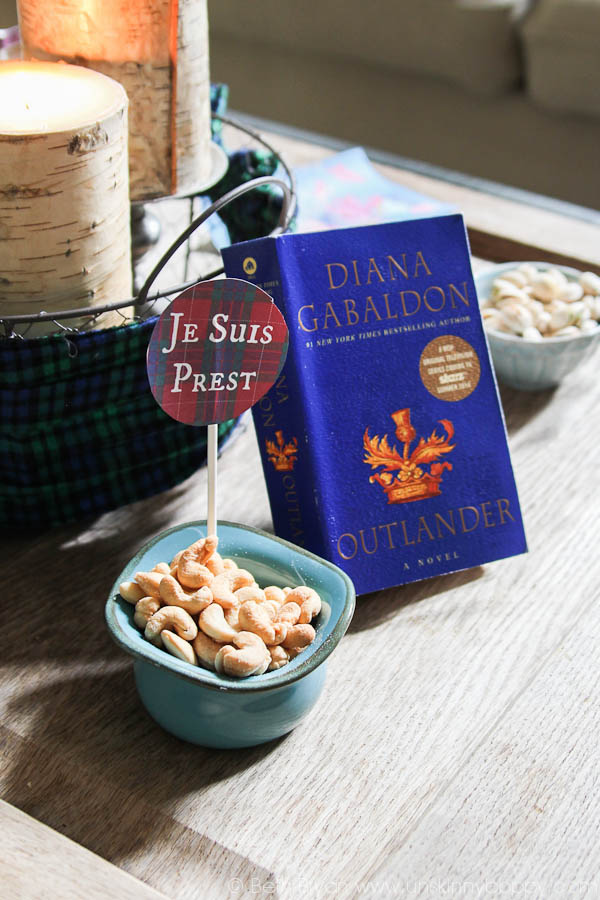 Outlander Party Ideas- Diana Gabaldon Book