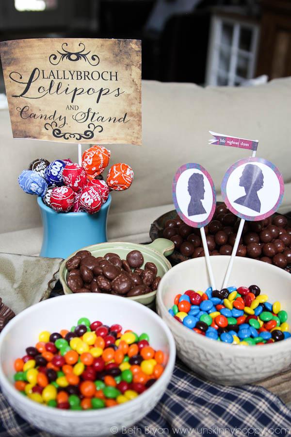 Outlander Lallybroch lollipops