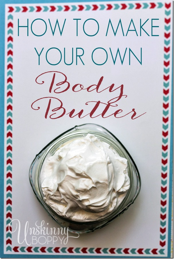 HOW TO MAKE YOUR OWN BODY BUTTER WITH ESSENTIAL OILS