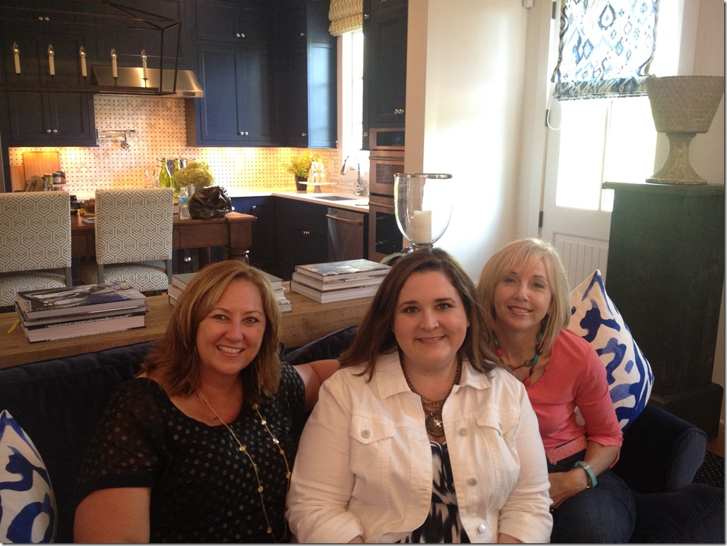 The ladies and I at the HGTV Smart House!