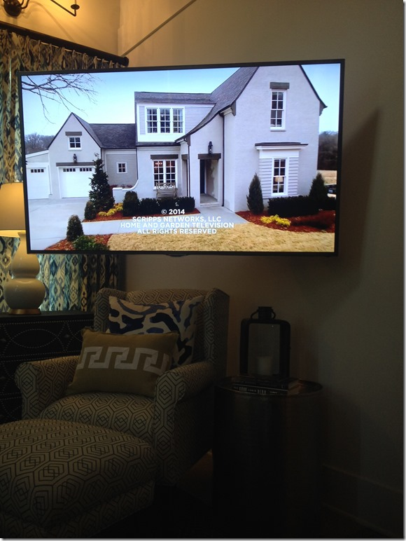 We couldn't make a trip to Nashville without visiting the HGTV smart home.