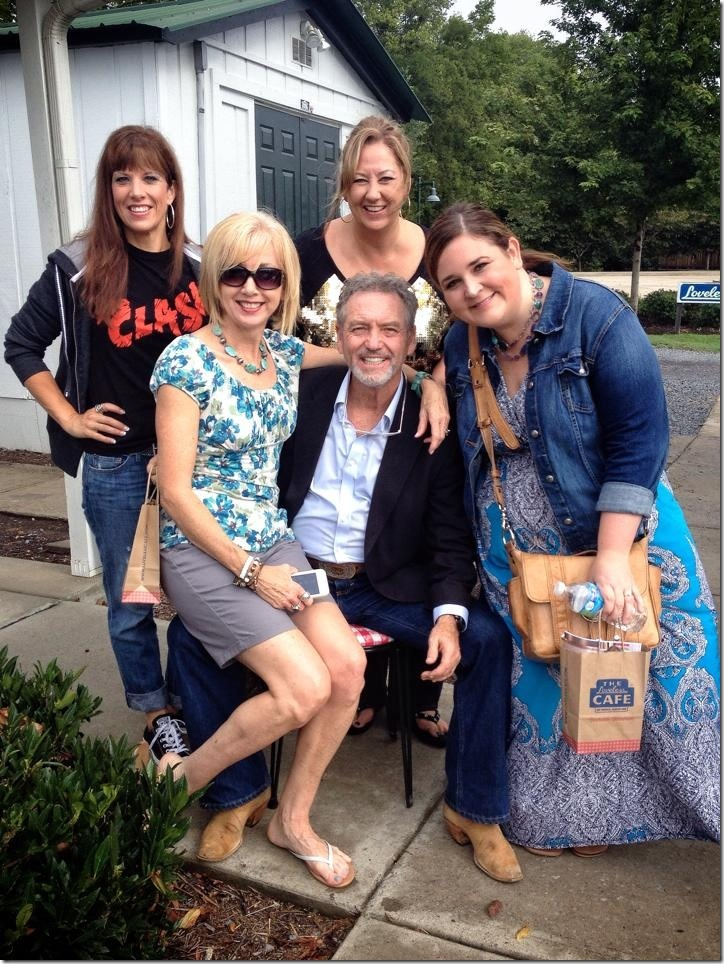 The ladies with Larry Gatlin of the Gatlin Brothers