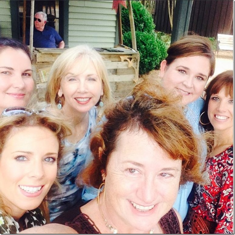 Nashville bloggers selfie!