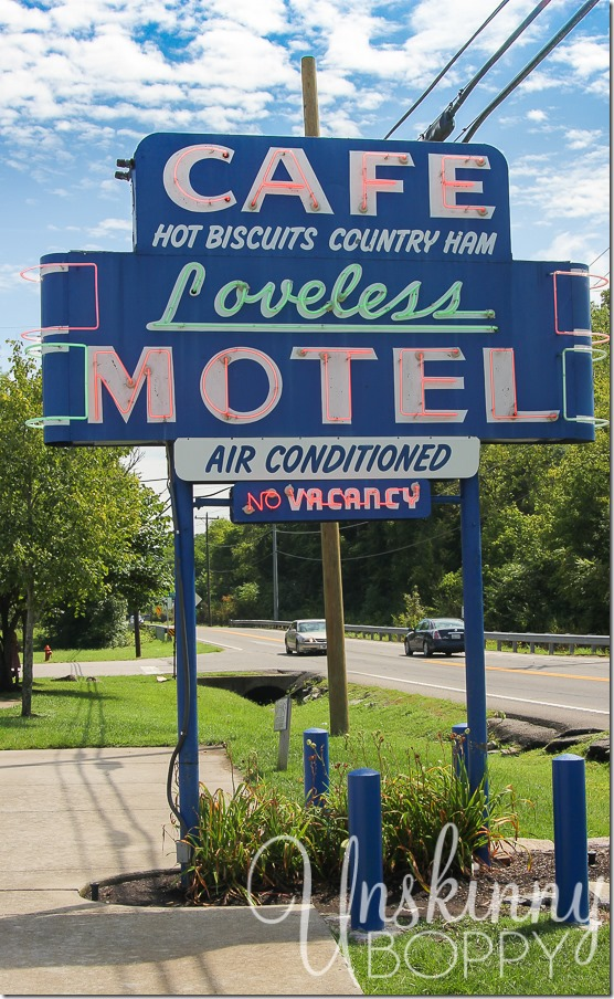 The Loveless Motel in Nashville, TN