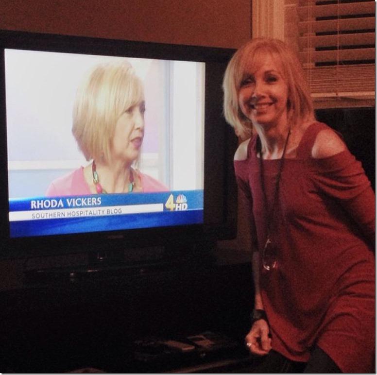 Rhonda made it onto the news!