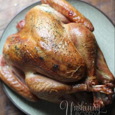 How to smoke a turkey on big green egg