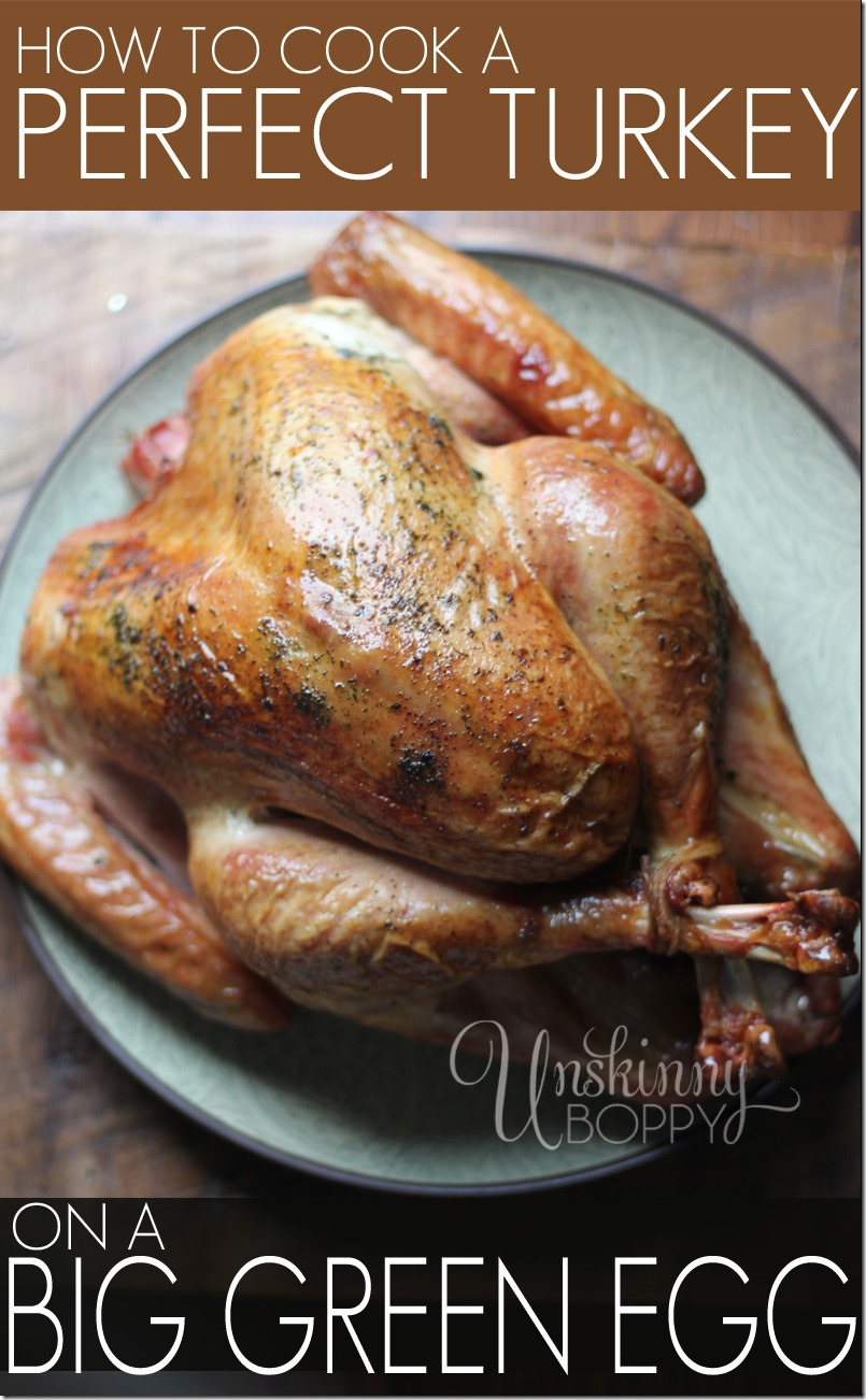 Big Green Egg Smoked Turkey Recipe