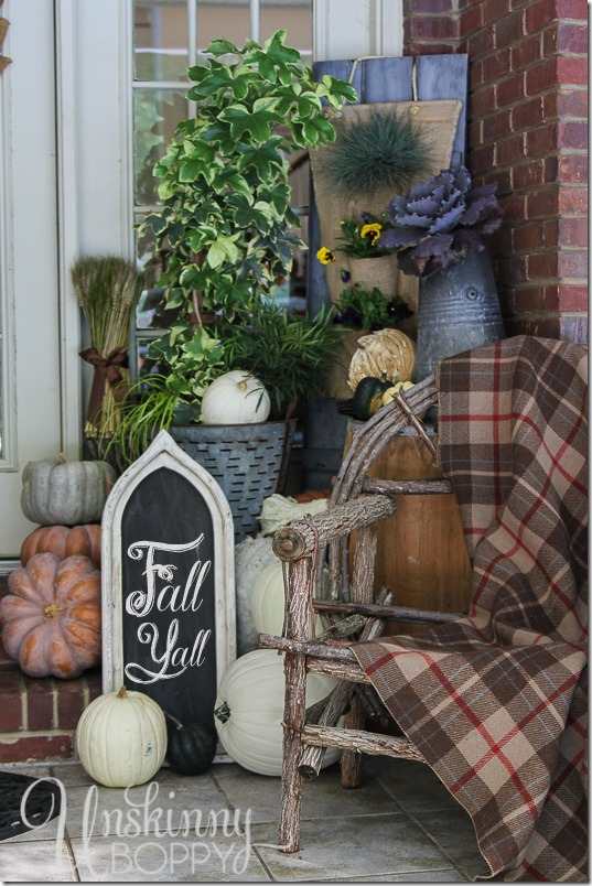 Mum Free Fall Outdoor Decorating Ideas Unskinny Boppy
