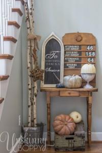 Pretty-Fall-Decorating-Ideas-vintage-church-attendance-sign.jpg