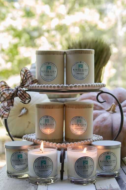 My Favorite Fall Candle Scents {GIVEAWAY from River City Candles}