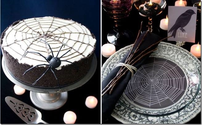 Spiders on the cake by Matthew Mead