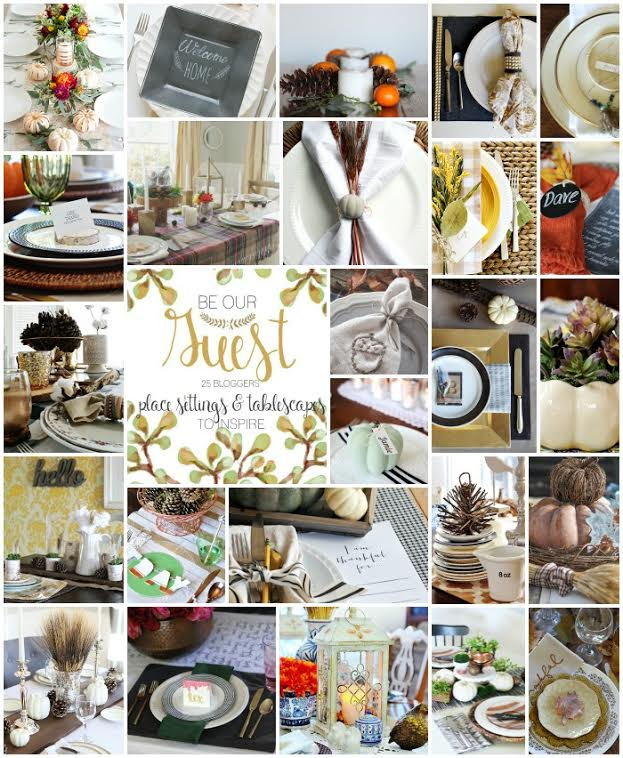 Be our Guest Tablescapes