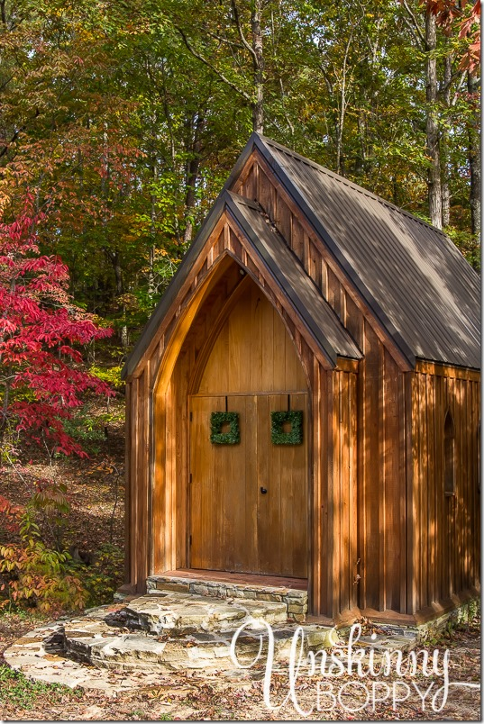 Blankenship Farms Chapel in the woods