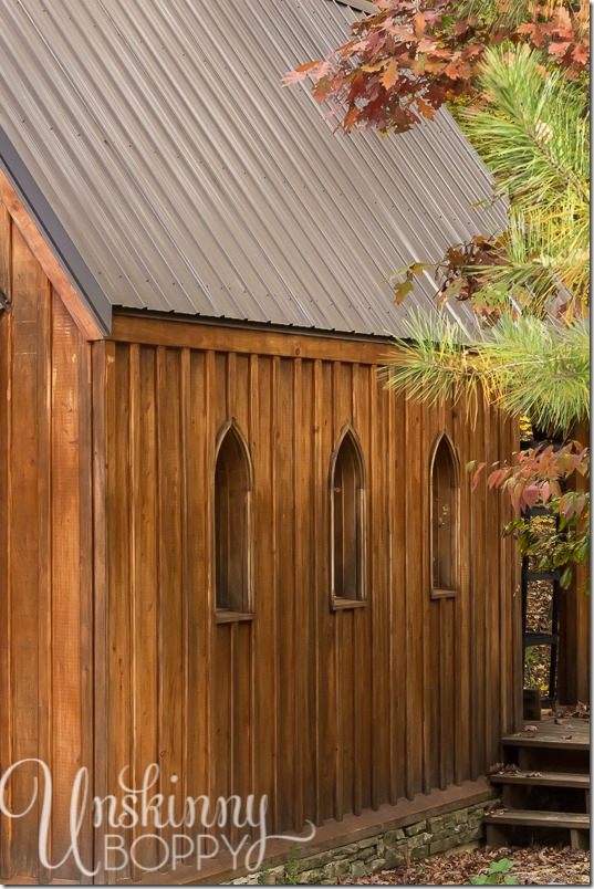 Blankenship Farms Gothic Church replica