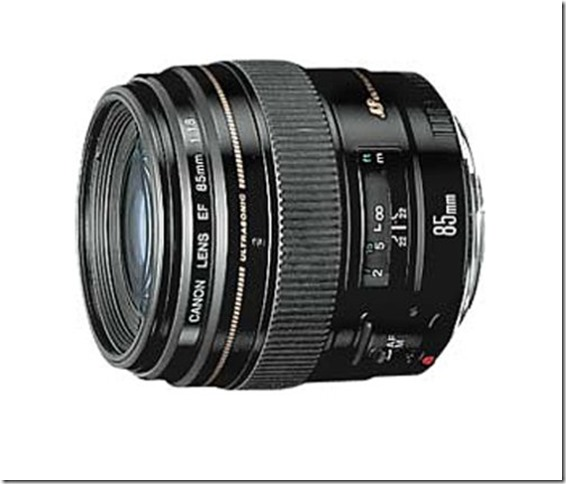 Canon 1.8 85 mm lens