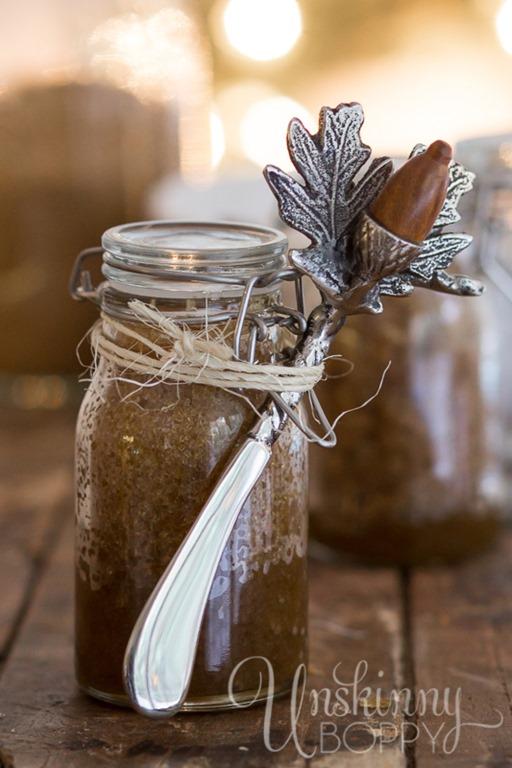 EASY HANDMADE GIFT IDEA: Citrus Cinnamon Sugar Scrub