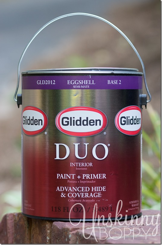 Glidden Duo Paint with Primer