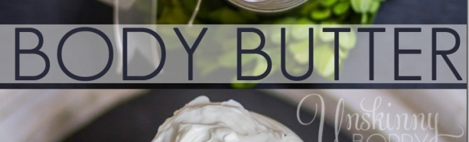 Handmade Body Butter recipe {& Essential Oil Gift Guide}