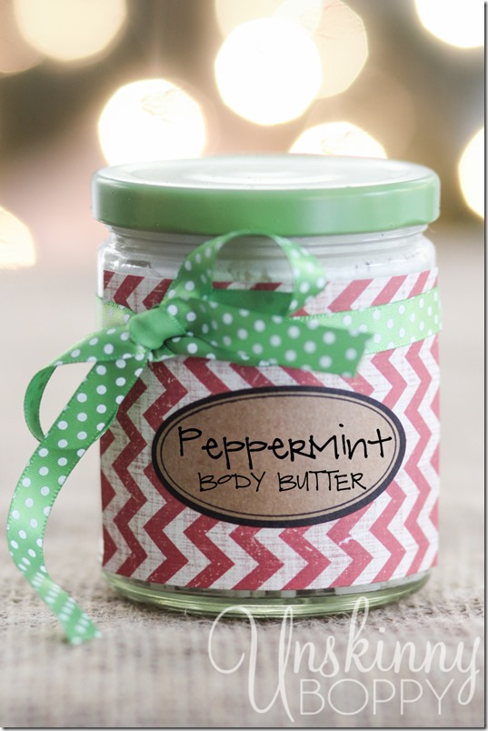 Homemade Peppermint Body Butter Recipe using essential oils-10