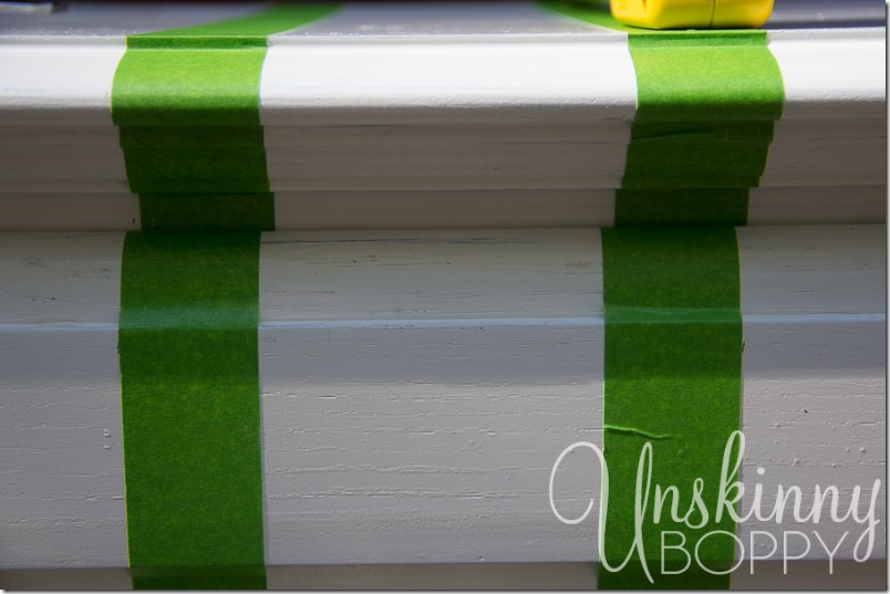 How to paint stripes on furniture-13