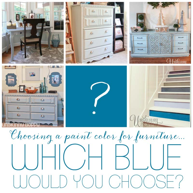 Painted Blue Furniture