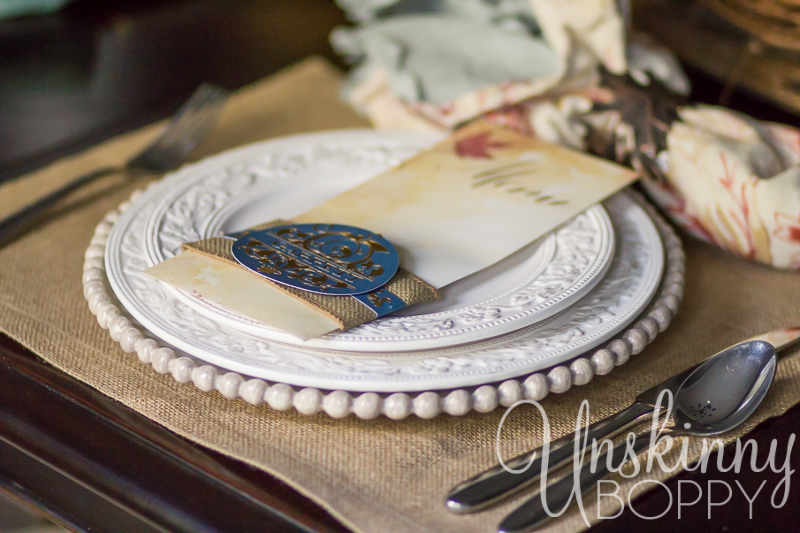 Thanksgiving Tablescape with custom menu placecards-2