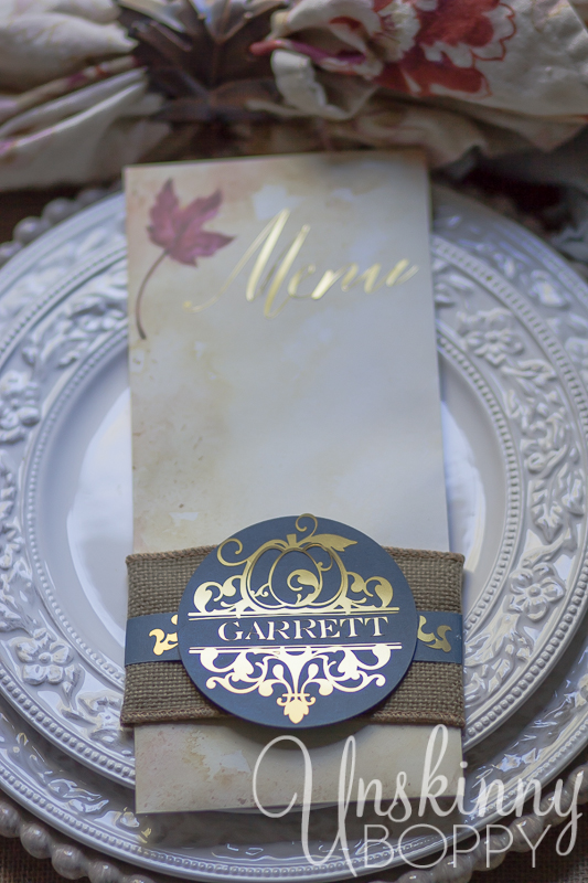 Thanksgiving Tablescape with custom menu placecards-5